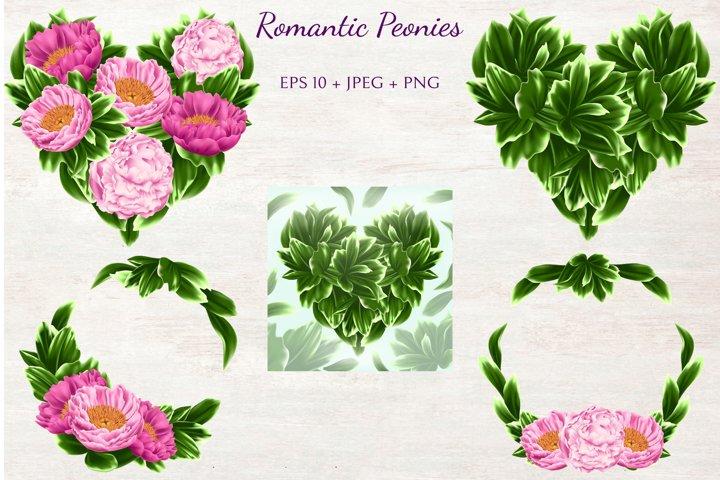 Romantic Peonies example 4