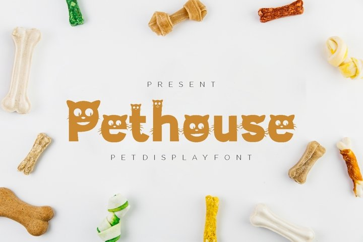 Pethouse - Pet Display Font