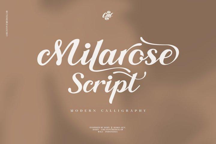 Milarose Script