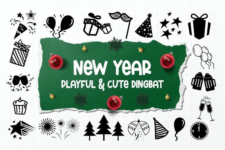 New Year Dingbats