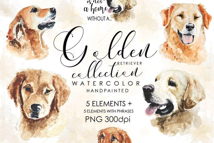 Dog Breeds, Watercolor Dog Clipart, Dogs, Dog Bundle