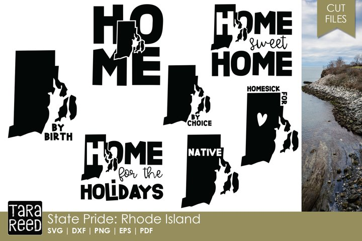 State of Rhode Island - SVG and Cut Files for Crafters
