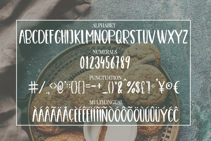 Cute, Casual, Handwritten font COOKIES - Free Font of The Week Design2