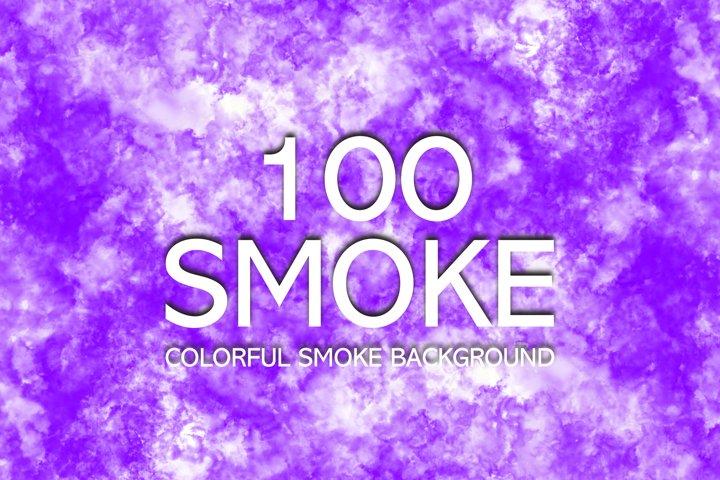 Colorful Smoke bundle background. Movement of fire design.