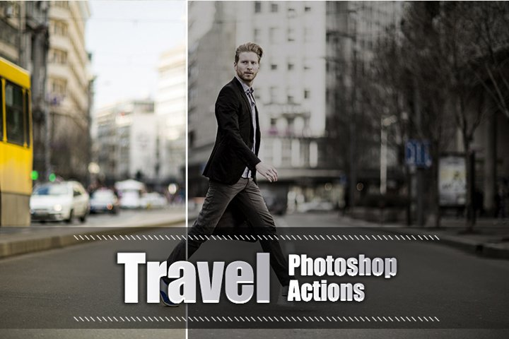 20 Travel Photoshop Actions