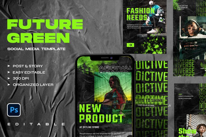FUTURE GREEN - Instagram Stories & Post