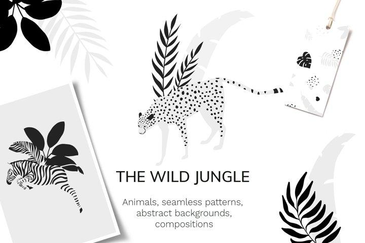 Jungle animals patterns