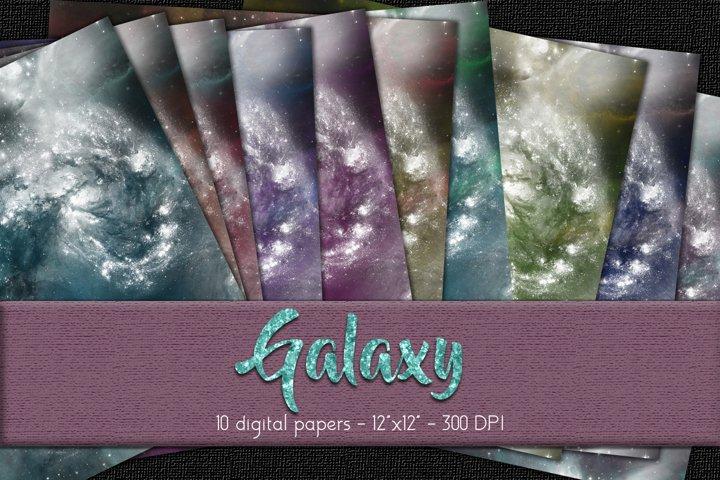 Galaxy Digital Paper Set