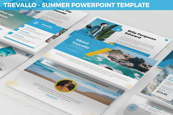Trevallo - Summer Powerpoint Template