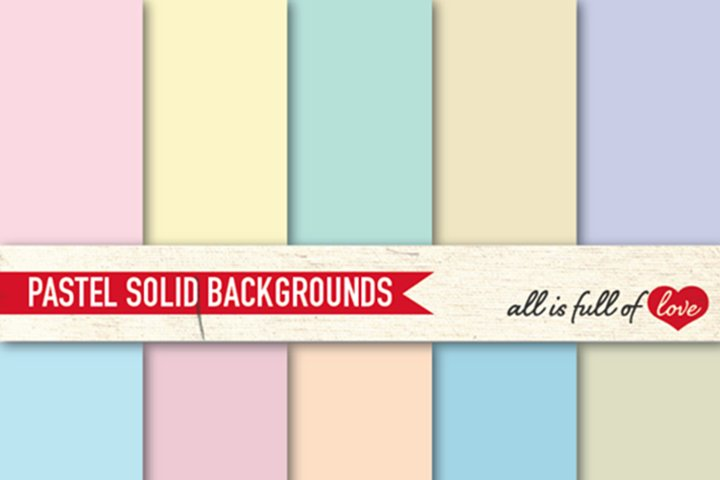 Pastel Solid Background Digital Graphics