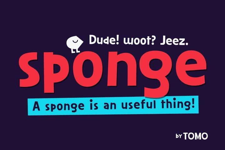 TOMO Sponge