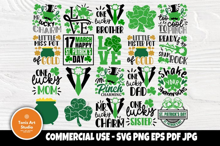 St Patricks Day SVG Bundle, Funny Svg Quotes, Svg Cut Files