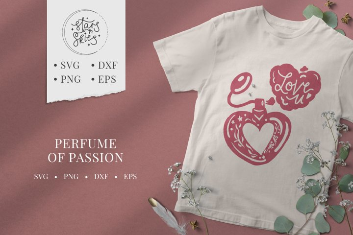 Perfume of Passion SVG Cut-File