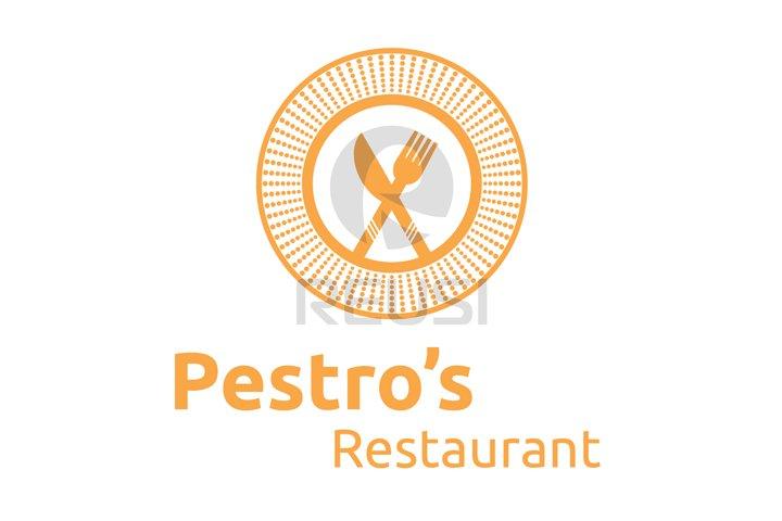Pestros Restaurant Logo Template