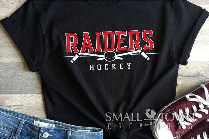 Raider, Hockey puck, Sports, Team logo, PRINT, CUT & DESIGN