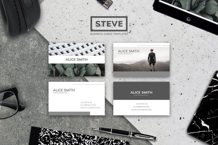 STEVE   BUSINESS CARD TEMPLATES
