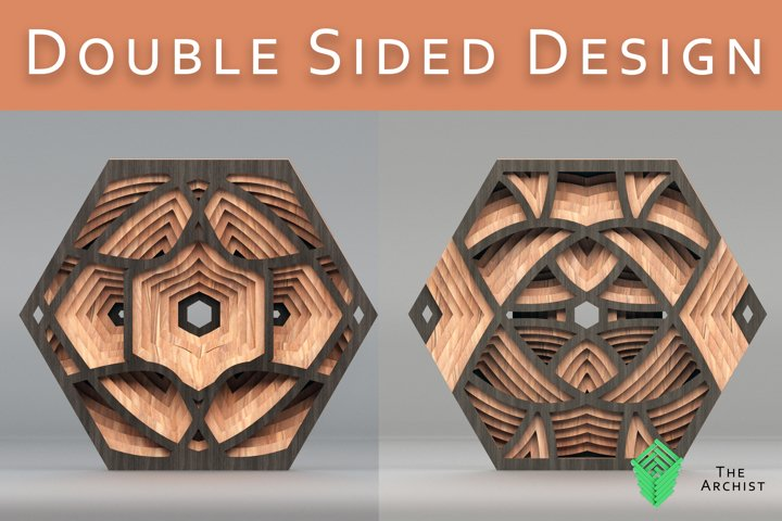 Double sided Hex design