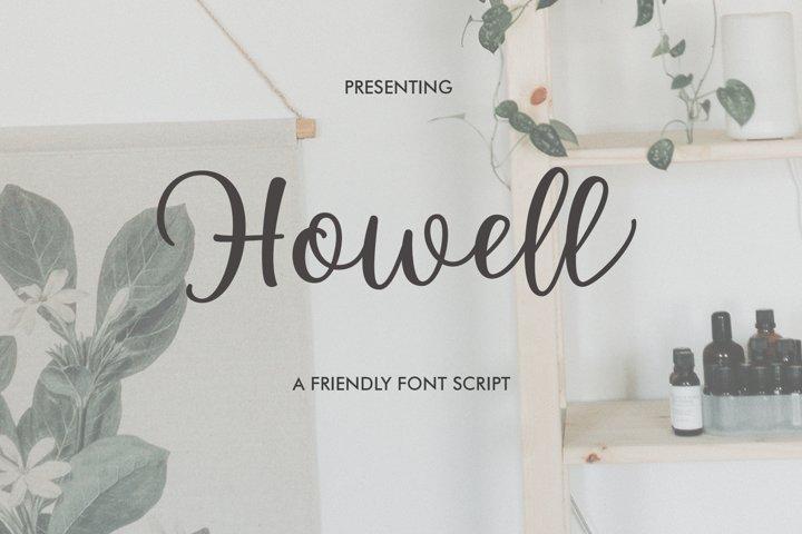 Howell Script