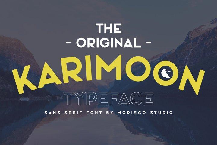 Karimoon Typeface