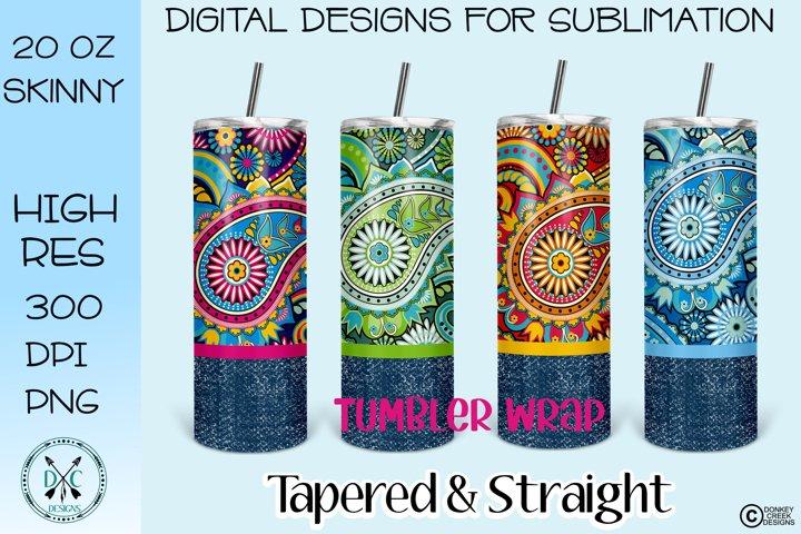 Tumbler Wrap Skinny Tumbler Bundle Sublimation Designs