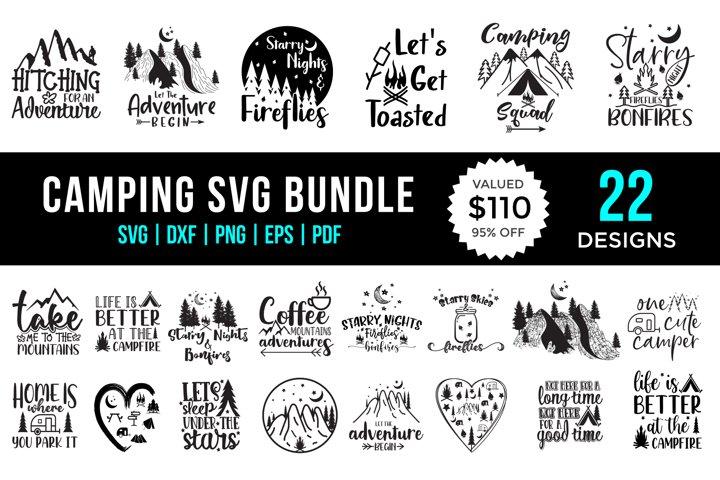 Camping SVG Bundle Vol.2