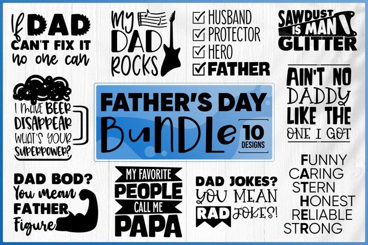 Fathers Day Bundle SVG - Dad Bundle SVG - Dad Quotes SVG