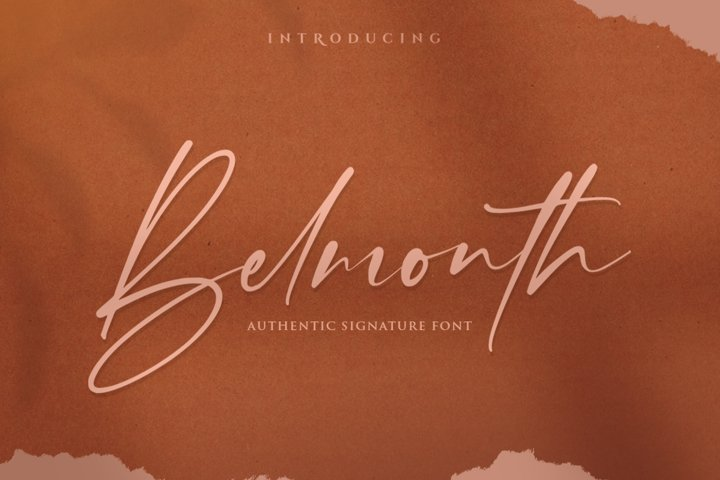 Belmonth / Luxury Script