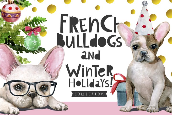 French Bulldogs and Winter Holidays