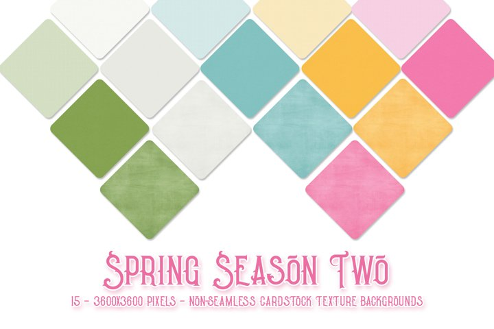 Spring Season Two Texture Digital Paper