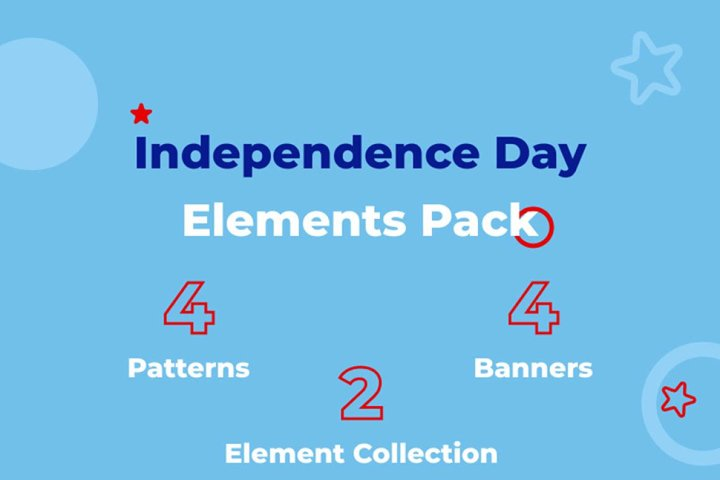 Independence Day Clipart Bundle