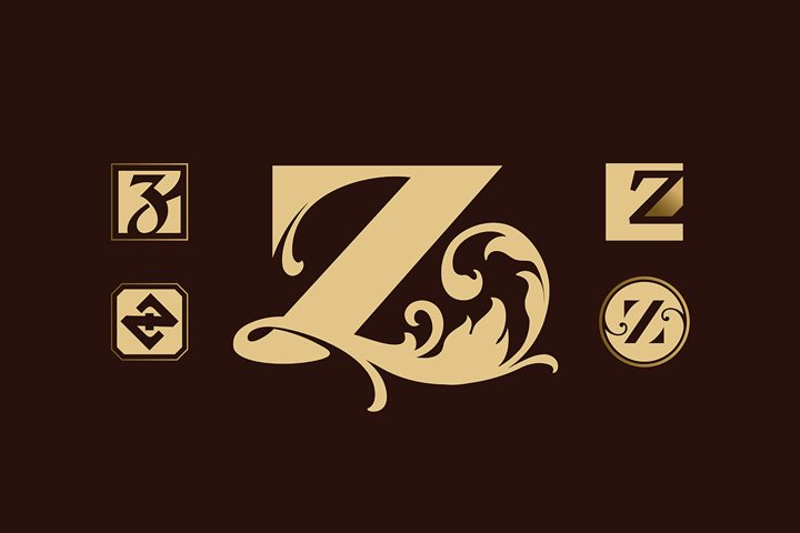 Logotype with letter Z