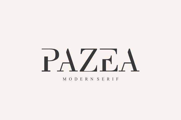 PAZEA FONT | MODERN SERIF