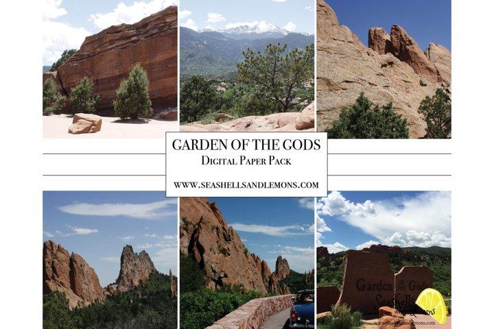Garden of the Gods - Colorado - Mountains - Scenic Drive