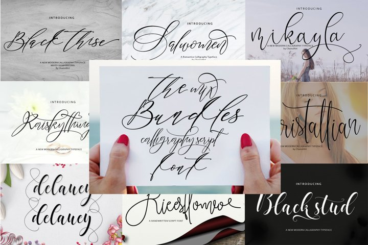 The Mix Bundles Font