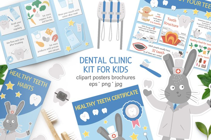 Dental clinic kit for kids