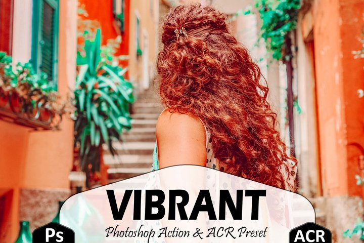 10 Vibrant Photoshop Actions And ACR Presets, Color Pop Ps