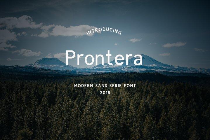 Prontera Sans