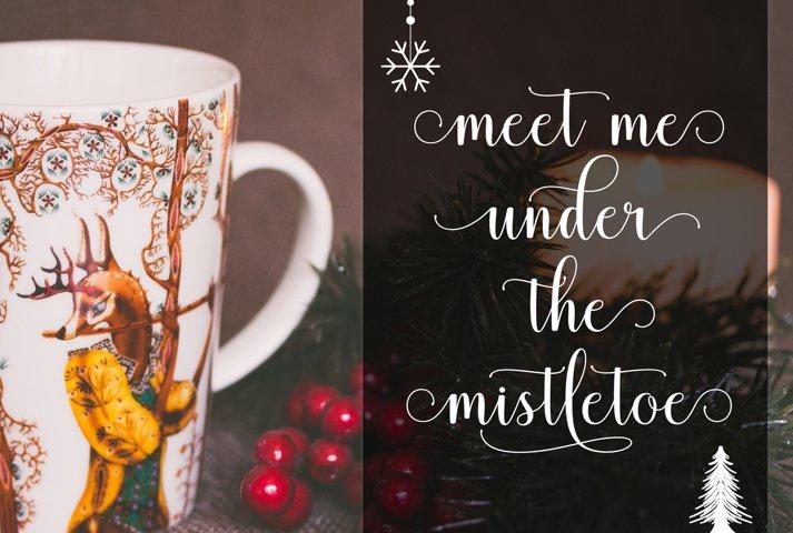 Mistletoe - Font Duo + Bonus - Free Font of The Week Design2