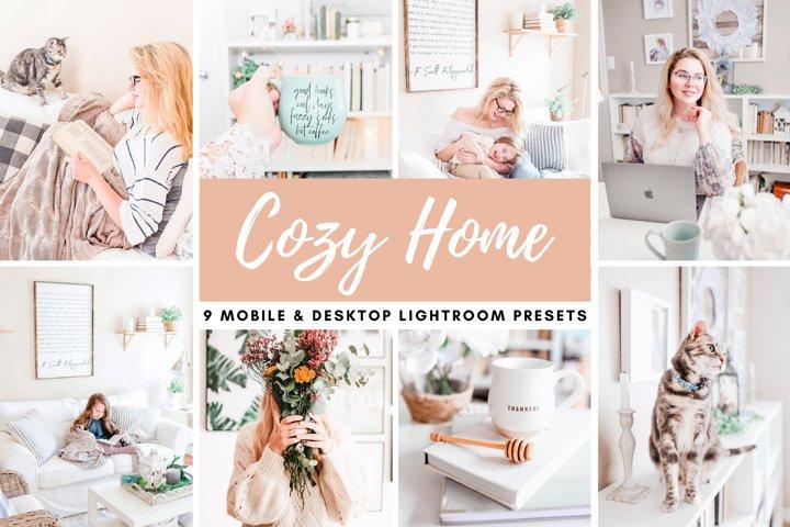 Cozy Home Bright Mobile & Desktop Lightroom Photo Presets