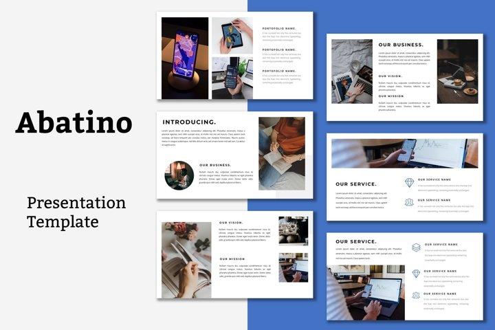 Abatino - Powerpoint Presentation Template