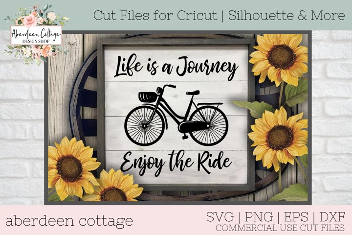 Life Is A Journey Enjoy The Ride SVG