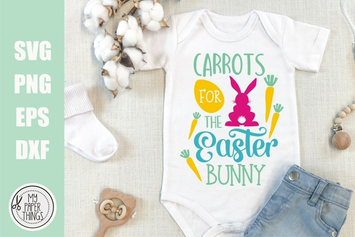 Easter Baby svg | Carrots for the Easter Bunny svg