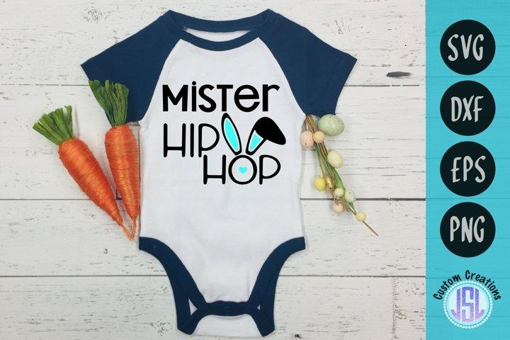 Mister Hip Hop | Easter SVG Download | SVG DXF EPS PNG