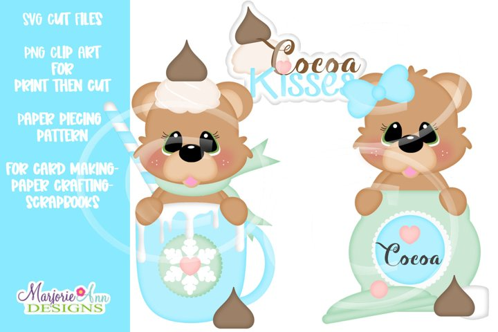 Sweet Cocoa Kisses SVG Cut File-Clip Art Files-SVG-PNG-JPG