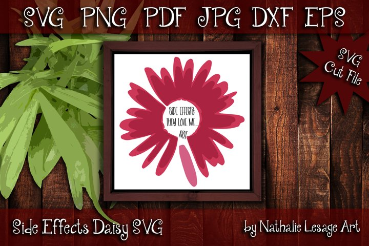 Layered Daisy Flower Chronic Illness SVG and Sublimation