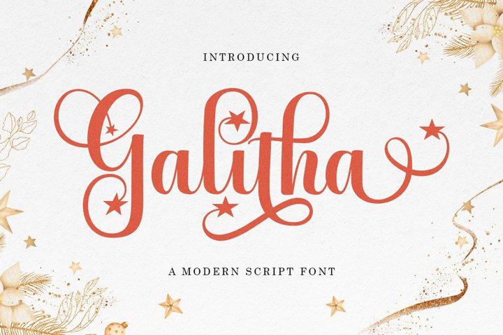 Galitha Script