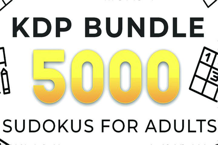 KDP Bundle l 5000 Sudoku