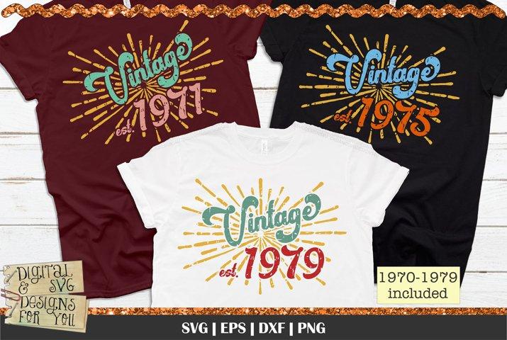 1970s Vintage Birthday | Vintage Birthday | Retro Birthday