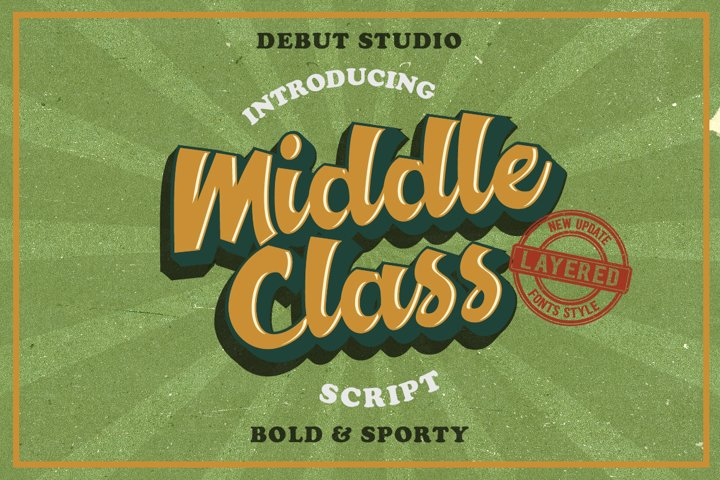 Middle Class Script  Extra