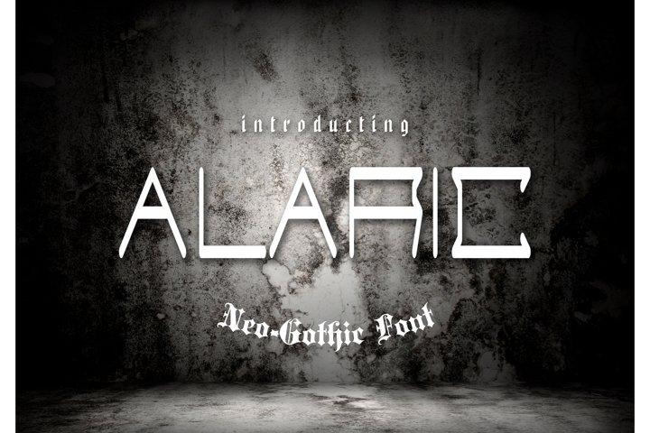 Alaric Neo-Gothic Font